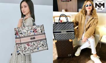 Dior Tote Bag為迎合內地市場   推出繡簡體字服務   網友:名牌袋瞬間變翻版! Angelababy有份做代言人|時事新聞台