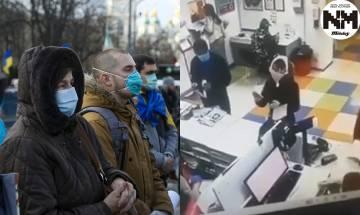 【新冠肺炎】底褲當口罩?!   烏克蘭女「當場脫內褲套頭」網民笑指:有味道!|時事新聞台