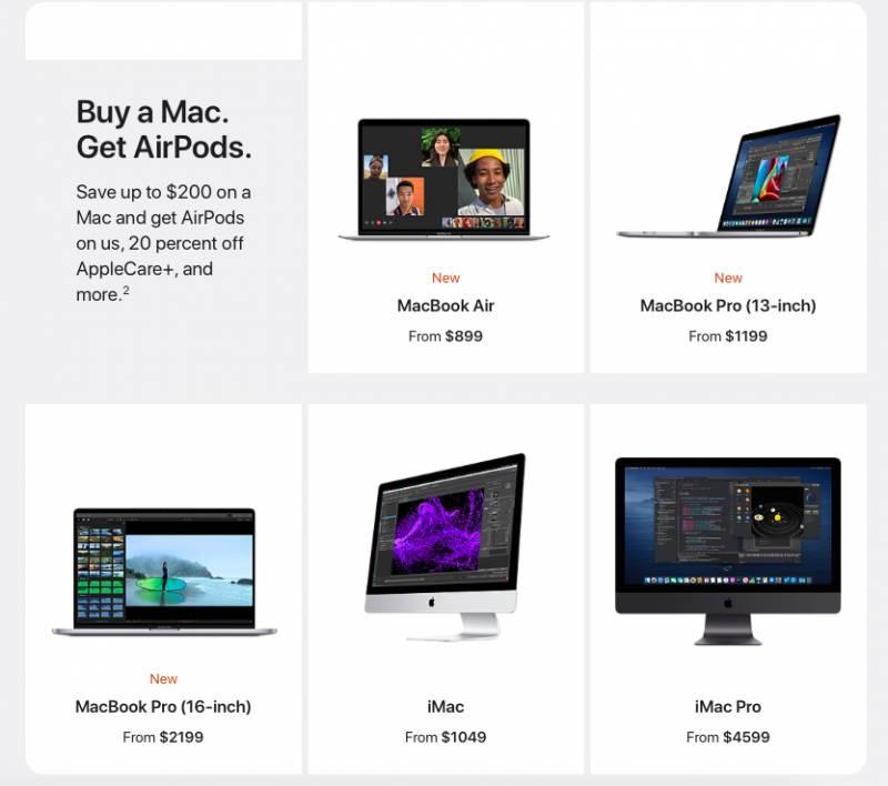 Apple Back to School 2020