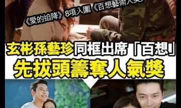 【#頭號粉絲】《愛的迫降》CP玄彬孫藝珍先奪「人氣獎」