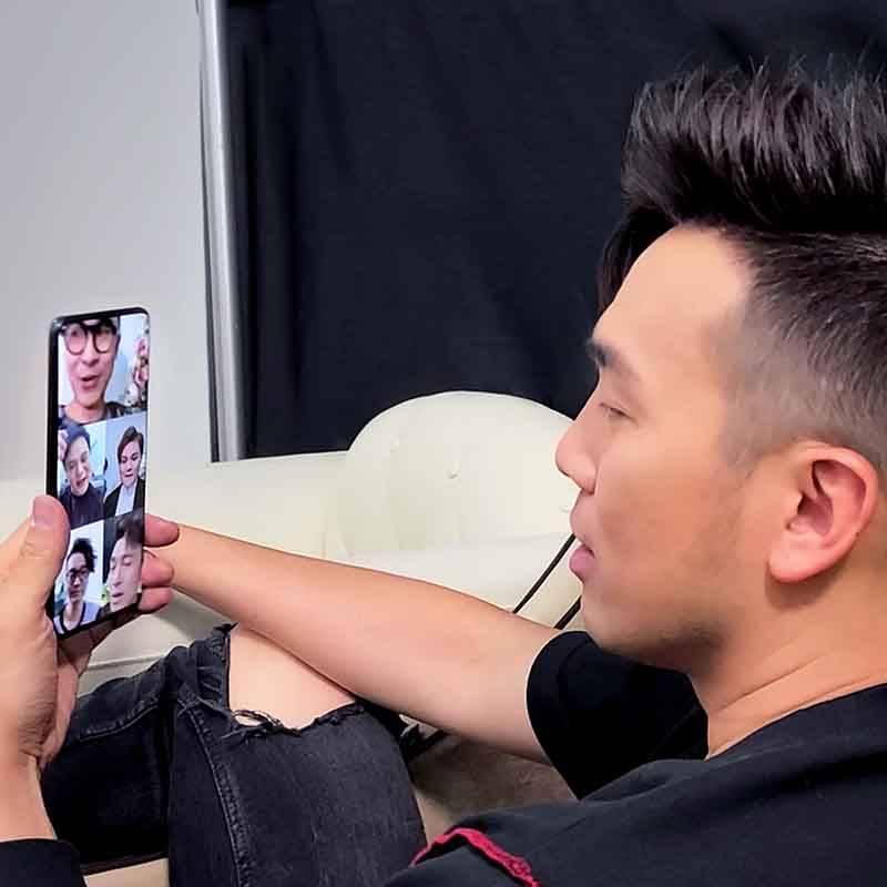 Samsung,5G,Dear Jane,粵劇,杜詠心,表演,直播