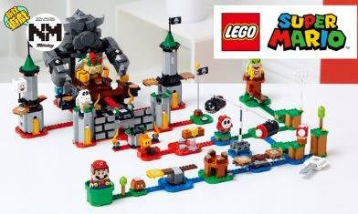 LEGO Super Mario 8月開售!從遊戲走到現實過關 Fans必入LEGO Super Mario