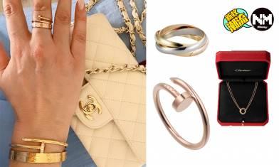 Cartier、BVLGARI、TIFFANY首飾 11件入門級手鍊、手環、頸鍊推介 最平$4,000入手 小資女都買得到的奢華