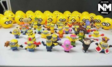 麥當勞開心樂園餐推35款Minions玩具 百變造型仲有隱藏金色?!|Chill好食