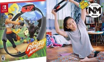 Switch RingFit返貨喇!AEON免炒價$6xx就買到!   宅家一樣可以RingFit做運動