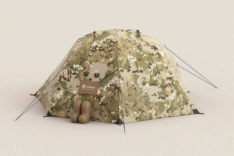 Sticky Monster Lab, Camping Tent Character, The North Face, 致敬, 露營, 帳篷, 露營帳篷
