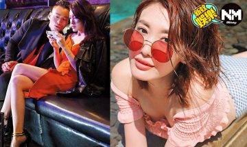 30歲蔣家旻惹火晒事業線  《反黑路人甲》首演社團黑面大家姐