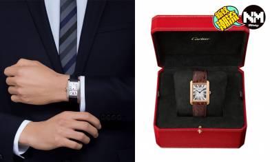 Cartier Tank手錶6款入門級必買推介 卡地亞其實不只得女裝手錶