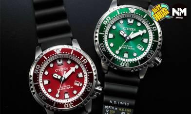 CITIZEN 2020年新作Promaster潛水錶 平民版Rolex勞力士綠水鬼 $3千元就可以入手