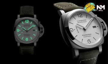 Panerai 2020年新作PAM01314 沛納海首款白色三文治錶盤手錶
