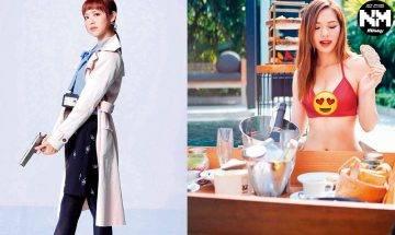 《反黑路人甲》馮盈盈入行4年榮升做女一 身材跟知名度Cup Cup上升|煲劇人生
