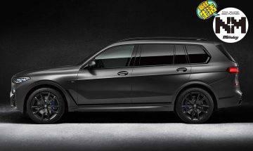 BMW X7推出型格黑版!全球限量500架BMW X7 Dark Shadow Edition