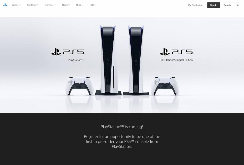 【PS5 開訂】PS5正式網上開訂預售!一人限訂一機兩周邊 內文有預訂Link