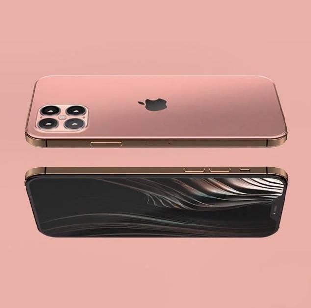 iPhone 12玫瑰粉
