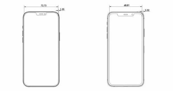 iPhone 12 Pro比iPhone 11 Pro稍大