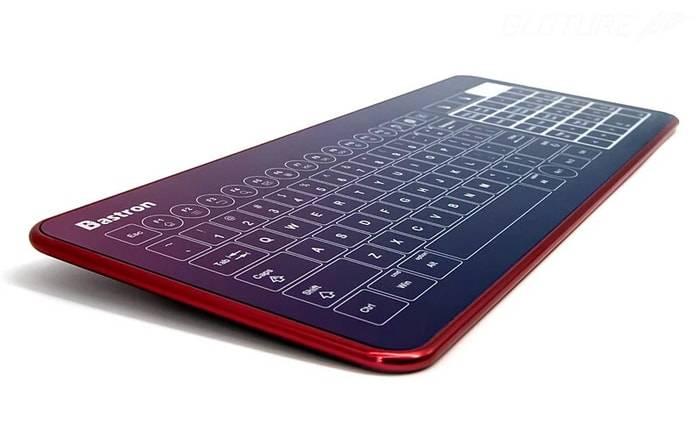 Bastron 3合1 超薄破璃鍵盤