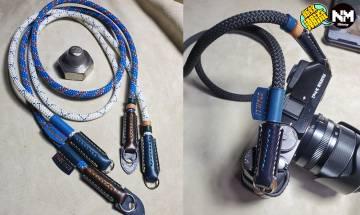相機帶香港DIY訂製推介 可以混合登山繩及皮革