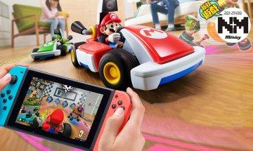 Mario Kart Live: Home Circuit  實體賽車結合Switch孖車!Switch最強AR遊戲