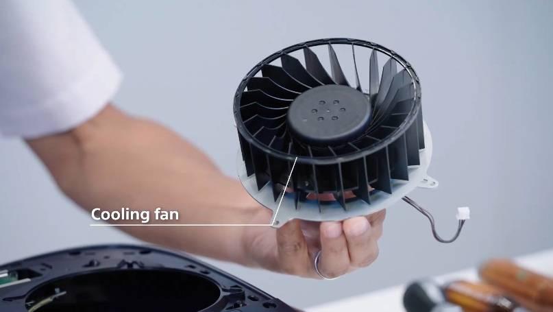 冷風機(直徑120mm、45mm厚)