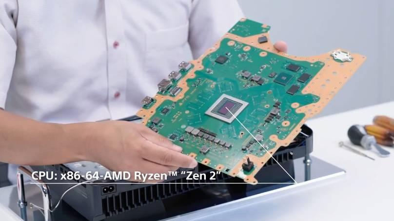 揭開底板,就可以看到8核心的CPU、GPU最高可達2.23GHz