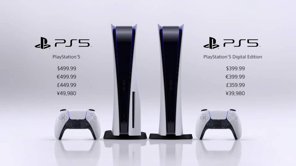 PS5(PlayStation 5)售價
