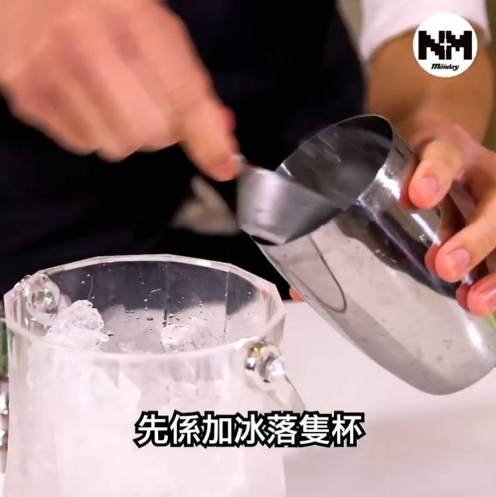 放冰入shaker