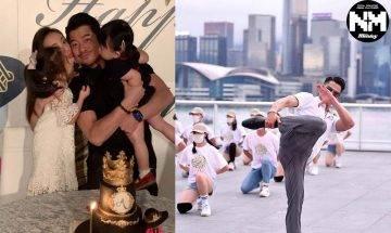 郭富城55歲生日與家人一齊低調度過 一皇三后大晒幸福