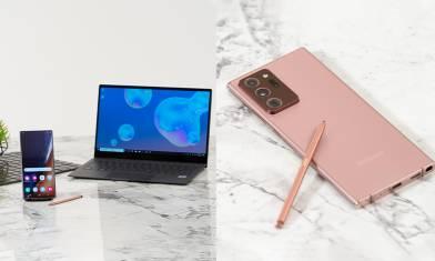 最強靈感伙伴!運用 Samsung Galaxy Note20系列  梁祖堯、卓韻芝捕捉生活每一刻