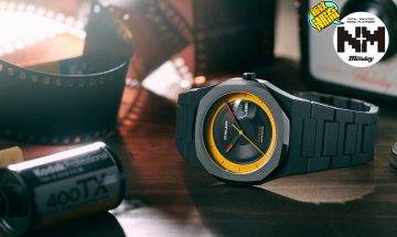 【Kodachrome Analog】D1 MILANO x Kodak夢幻聯乘!超玩味手錶!送一次性菲林相機