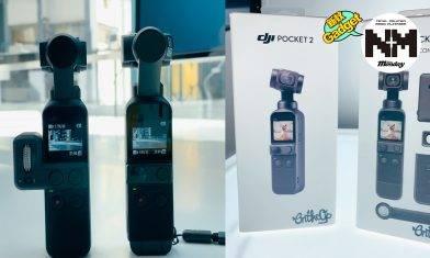 DJI Pocket 2現身!超正輕裝拍片必備!1、2代機能大對決