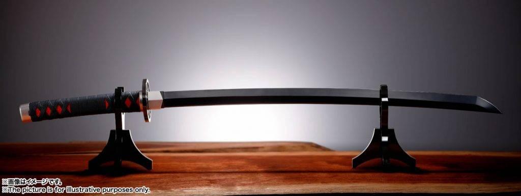 《鬼滅之刃》明年方發售的《鬼滅之刃》男主角炭治郎的日輪刀