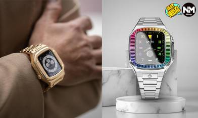 Apple Watch改裝成彩虹圈 錶面、錶帶還可以向AP、Rolex等名錶致敬