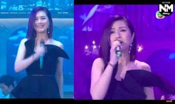 楊千嬅被歌唱老師點評唱功 音準唔啱 /走音整體唔合格 網友:從來無好過,唱live堅唔掂!