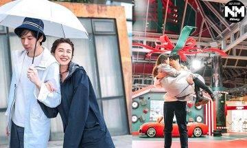 江嘉敏網上放閃孖男友頭貼頭兼公主抱 男友投訴:是你大褸太重還是…