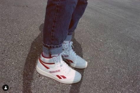 roll腳的話,褲腳不要落在鞋舌附近(圖片來源:IG@livinin_levis)