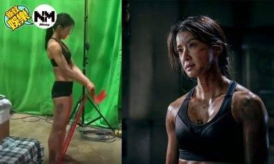 Netflix大熱劇《Sweet Home》李施昤飾演消防女角徐伊景 迷人背肌超煞食!