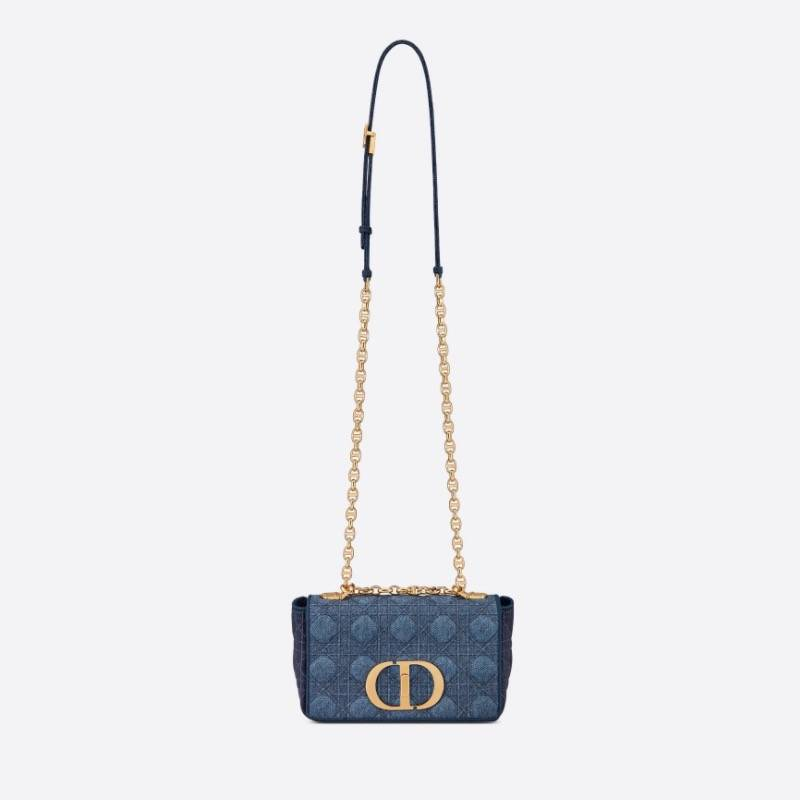 Denim Blue Small Dior Caro ,500(圖片來源:Dior)