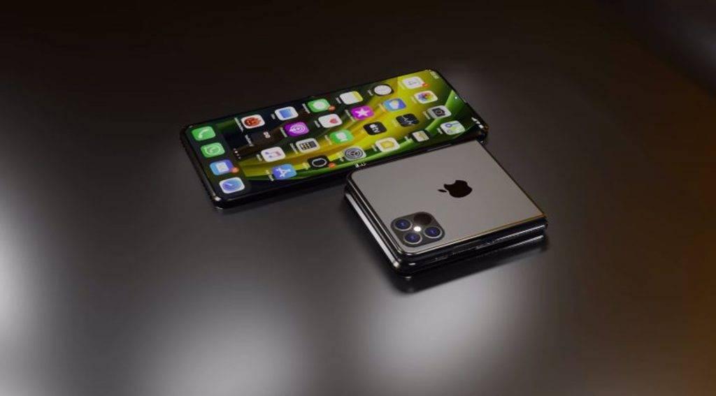 Apple成功申請將畫面分割顯示在兩個不同螢幕專利 傳有意兩年後推出iPhone摺屏手機