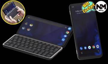 英國推出全球首部5G滑蓋鍵盤手機 眾籌成功有望3月拎到手