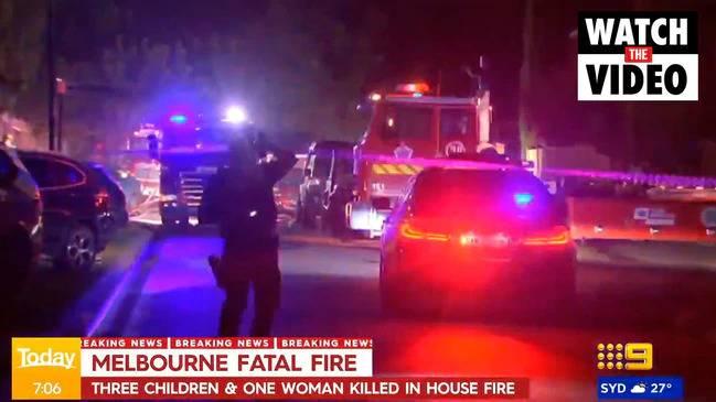 【母愛守護至死】墨爾本民宅失火!3名幼女被困火海、媽媽緊抱安慰至生命最後一刻