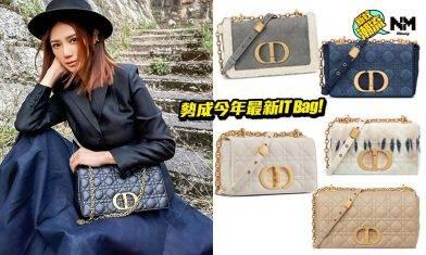 Dior 2021年新手袋登場!鏈帶翻蓋Dior Caro 9色可選 勢成下個IT Bag