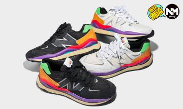 New Balance 2021年全新鞋款57/40登場 以經典波鞋574作變奏