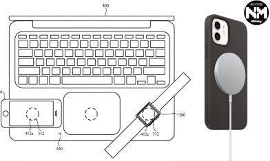 APPLE新專利曝光 iPhone、iPad、MacBook、Apple Watch將有雙向無線充電功能
