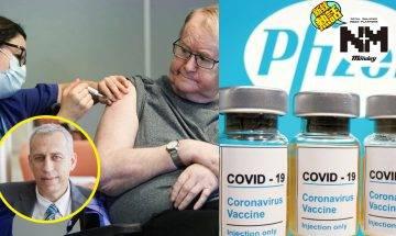 專家:輝瑞疫苗未如我們想像般有效。以色列1.2萬人接種後仍感染、挪威29人接種後死亡
