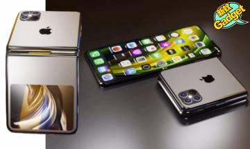 Apple|成功申請將畫面分割顯示在兩個不同螢幕專利 傳2023年推出iPhone摺屏手機