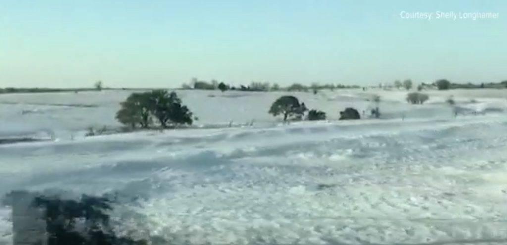 德州雪災情況