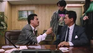 吳孟達在《賭神》中飾演財務公司老闆「花柳成」