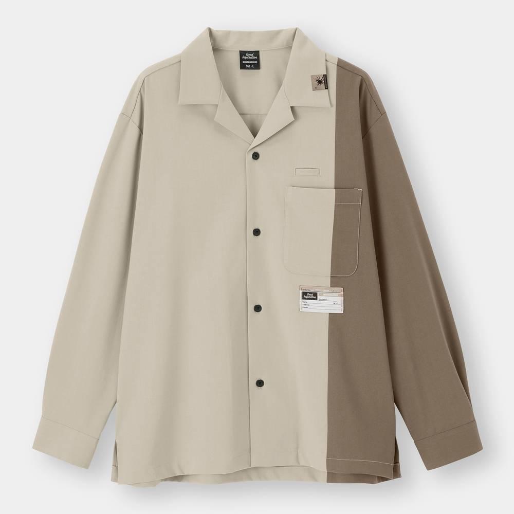 Open Collar Shirt 9