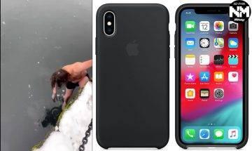 iPhone XS跌落海都無事?加拿大男子落雪冒寒跳海執手機