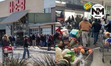 【德州雪災】超市導致停水停電、良心商鋪免費讓災民拿必須品